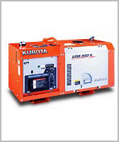 Generators, Kubota Generators
